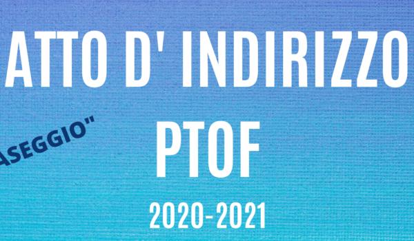 Atto Di Indirizzo Ptof 2020 2021