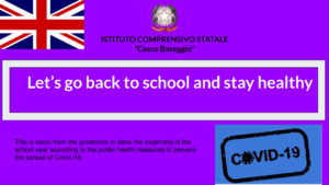 English Rules Against Covid Istituto Comprensivo Baseggio Bozza (1)